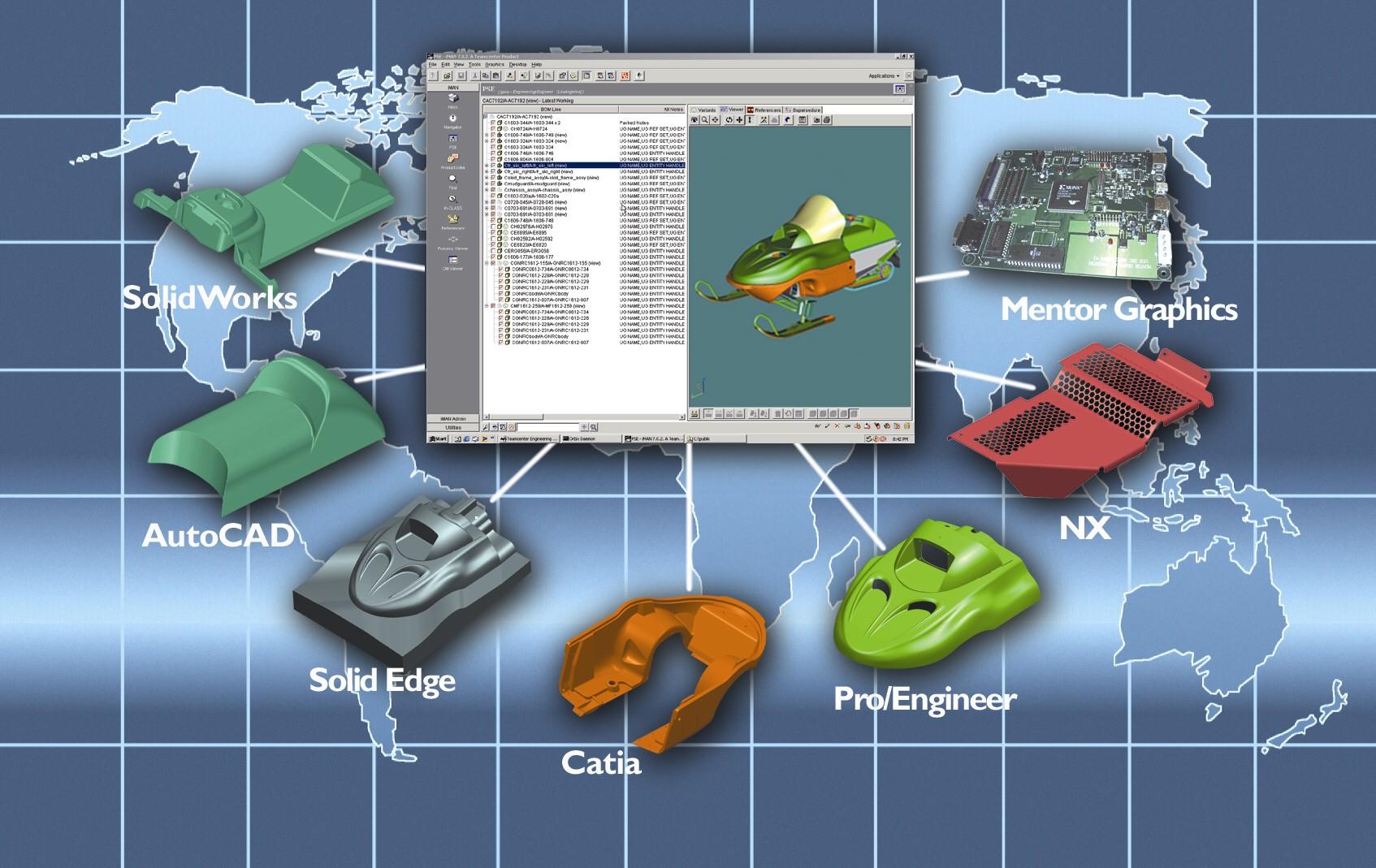 UGS、Teamcenter Multi-CAD Engi...
