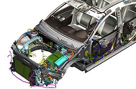 Konstruktion von Verkabelungen und Kabelb umen Siemens