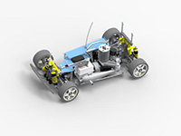 March 2016 Design Contest Winner: Francisco Caetano - Radio Controlled Car using Solid Edge