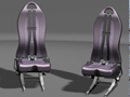 August 2013 Design Contest Winner - Helicopter Seats using NX software