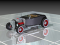 December 2013 Design Contest Winner - Hot rod car using Solid Edge software