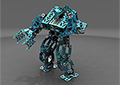 December 2015 Design Contest Winner: Pawel Olek - Humanoid Fighting Robot using NX