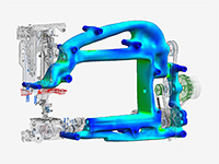 Efficient Topology Optimization for CAD parts