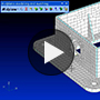 FEA Modeling Demo - Mid-plane Modeling and Meshing