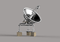 November 2015 Design Contest Winner: Brijesh Patel - Satellite Dish using Solid Edge