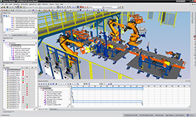 Tecnomatix Process Simulate Robotics