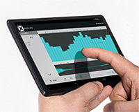SCADAS XS - Tailored Tablet Application