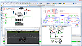 Vehicle Dynamics Control Simulation: Siemens PLM Software