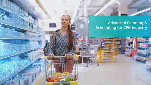 Advanced Planning & Scheduling for CPG Manufacturers