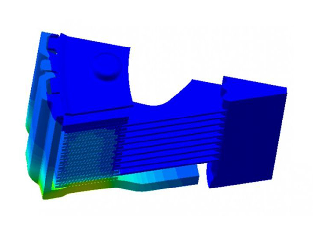 CFD simulation of a clutch