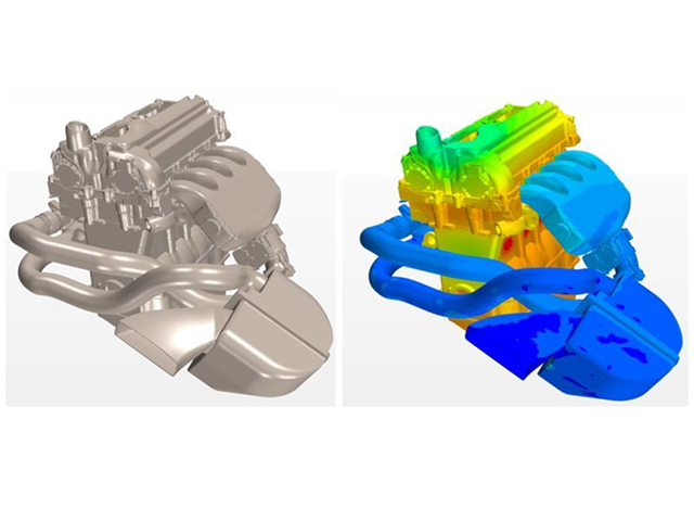 Cosimulation of turbocharger