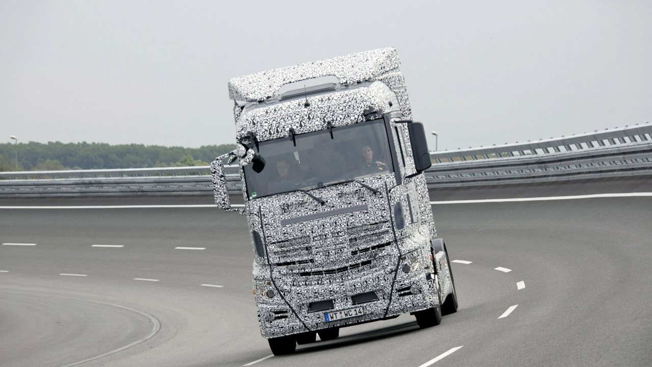 Daimler Trucks uses Simcenter Tecware and services to boost measurement instrumentation and data collection