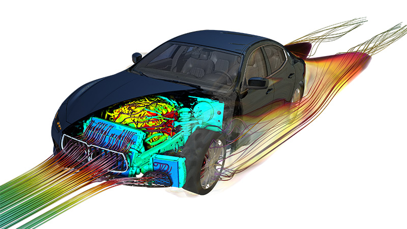 Vehicle heat protection analysis