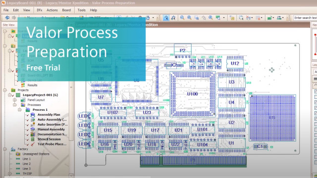 Free Trial: Explore the power of Process Preparation for PCB Assembly & Test