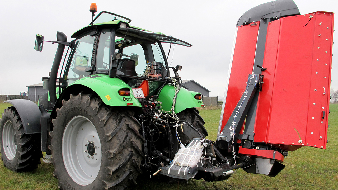 Using Simcenter SCADAS Recorder enables farming equipment firm to enhance durability of its products