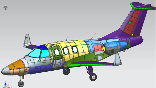 Aircraft structural analysis: How to implement a global aerostructure simulation process