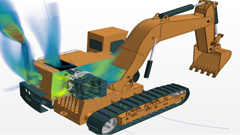 Thermal management of components, systems and heavy equipment vehicles