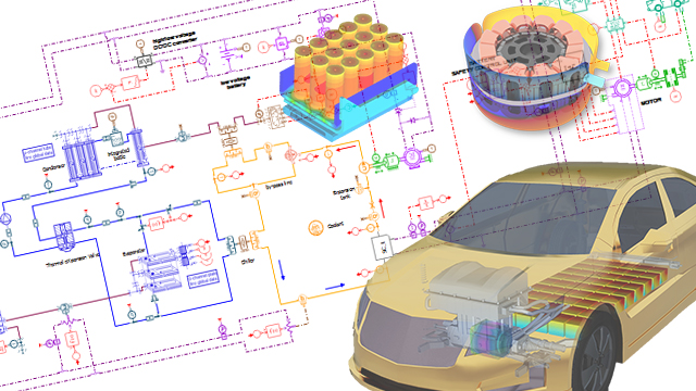 Thermal & Energy Management for E-Powertrain