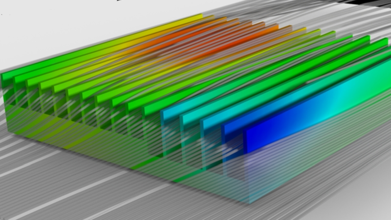 Heatsink / heat sink thermal design for electronics cooling thermal management and using thermal CFD simulation | Simcenter