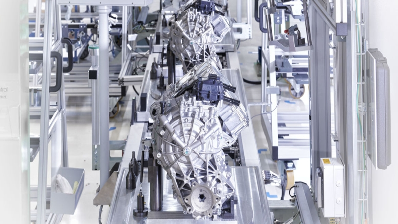Integration of the NVH test system into the test bench