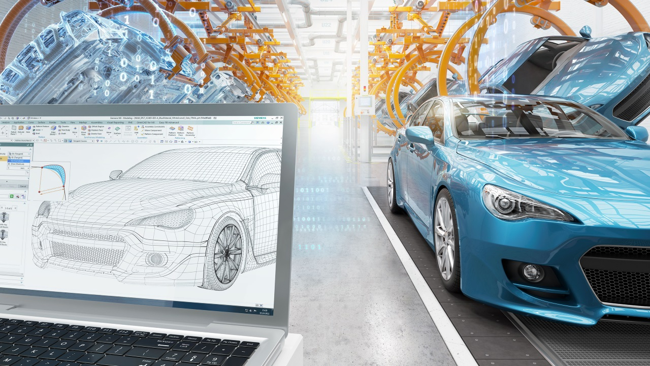 ALM and PLM for automotive product development