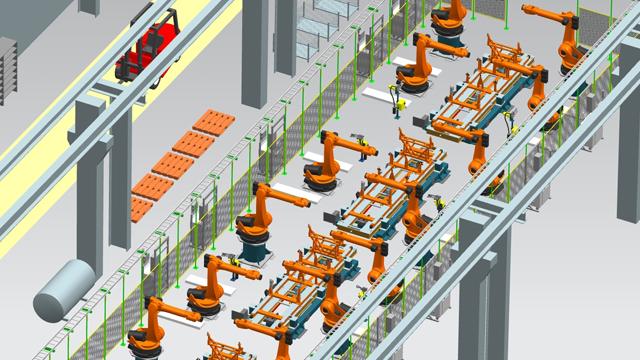 Factory Layout Design Siemens Digital Industries Software