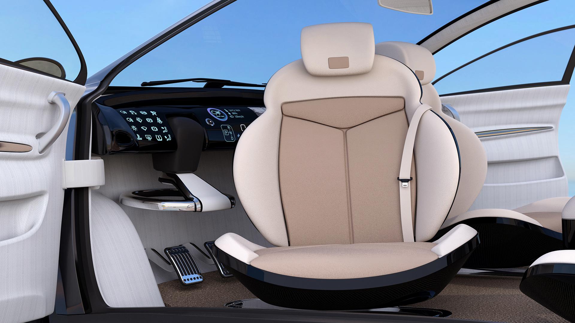 Automotive Seat Trim Design