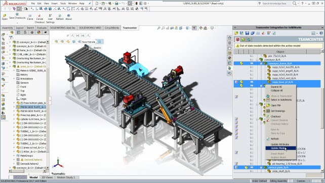 "Резултат с изображение за ""teamcenter solidworks"""