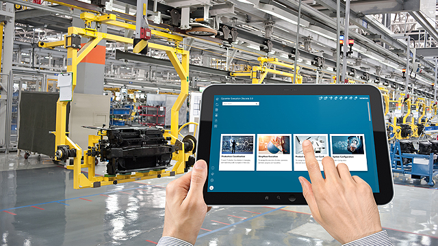 Opcenter Execution Discrete - Manufacturing Execution System (MES) software