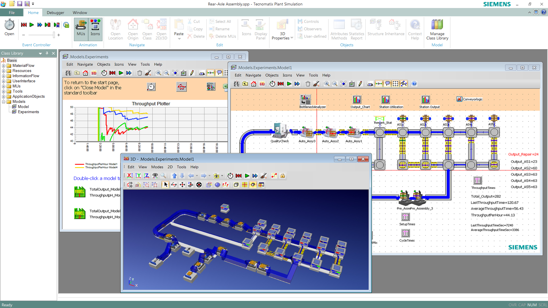 Factory Logistics and Material Flow Optimization