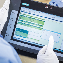 Opcenter Execution Pharma - MES and electronic batch management for pharmaceutical industry Siemens Digital Industries Software