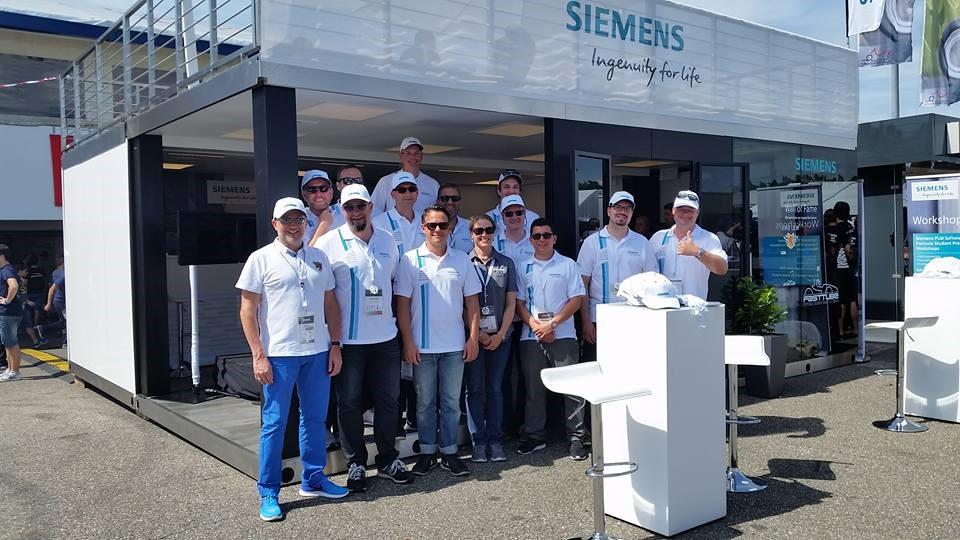 Siemens PLM Software Team at the booth