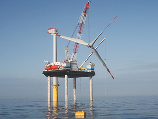Areva Wind uses simulation to improve offshore installation