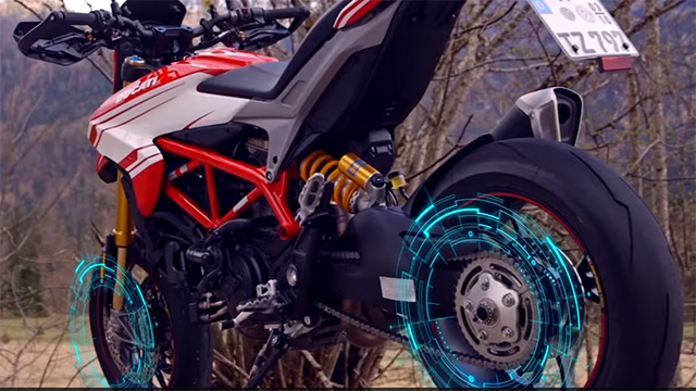 Designing and developing motorcycles, 4-wheel all-terrain vehicles (ATVs), snowmobiles and similar vehicles means balancing characteristics