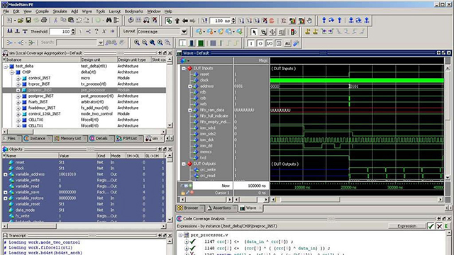 Student Software - ModelSim PE Student Edition