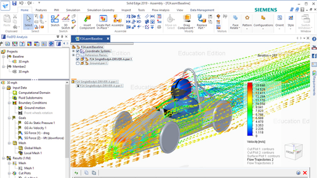 Student Software - Simcenter FloEFD for Solid Edge
