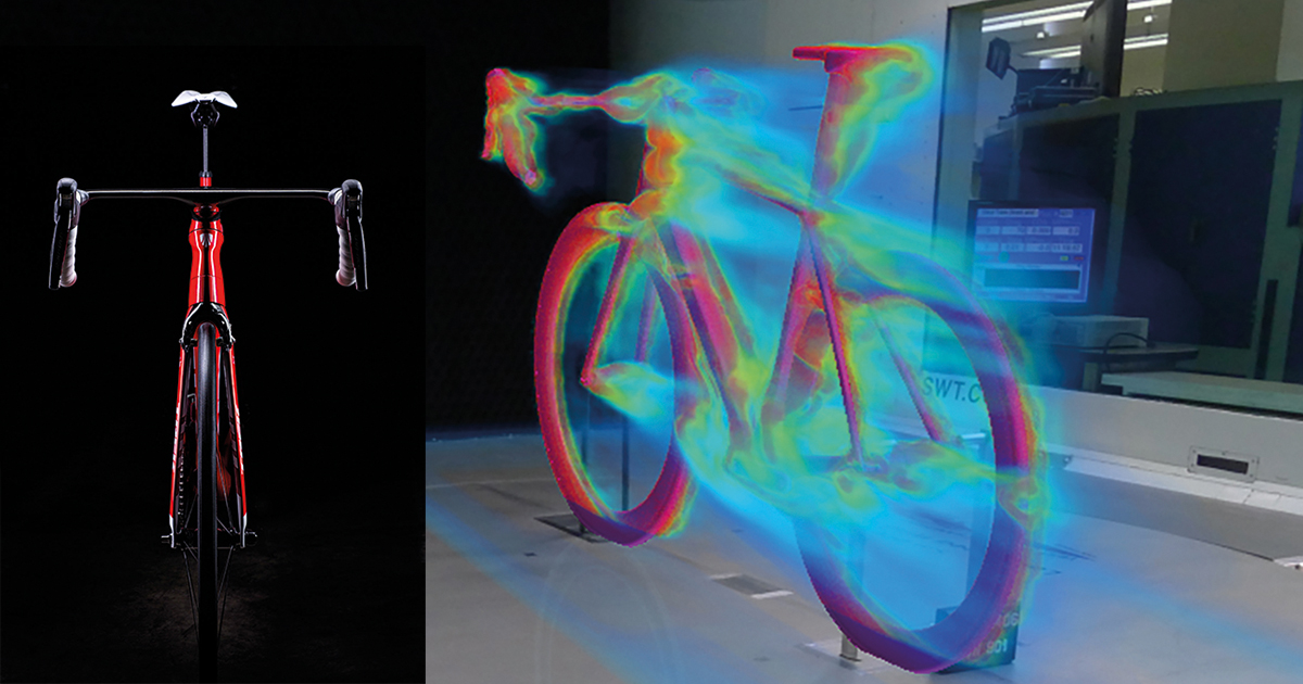 Design space exploration enables optimization of bicycle