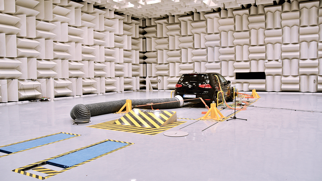 Automotive testing firm uses LMS Test.Lab and LMS SCADAS to help customers meet regulatory standard for noise