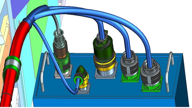3d electrical wiring and harness design