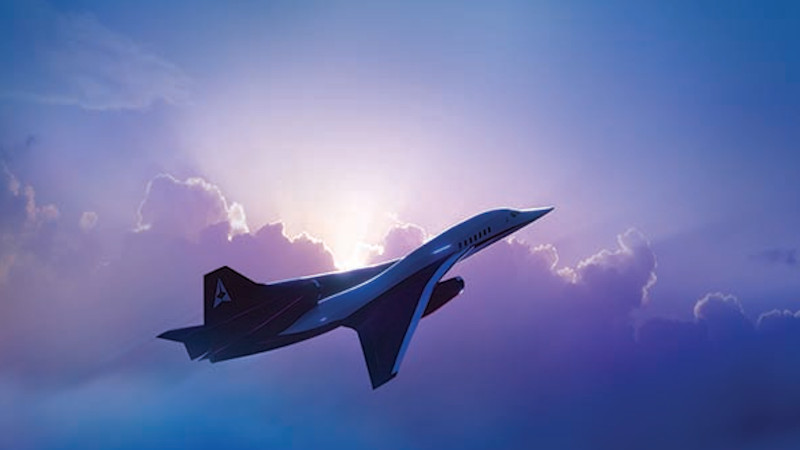 Using digital twin and model based systems engineering in aircraft design of supersonic jets