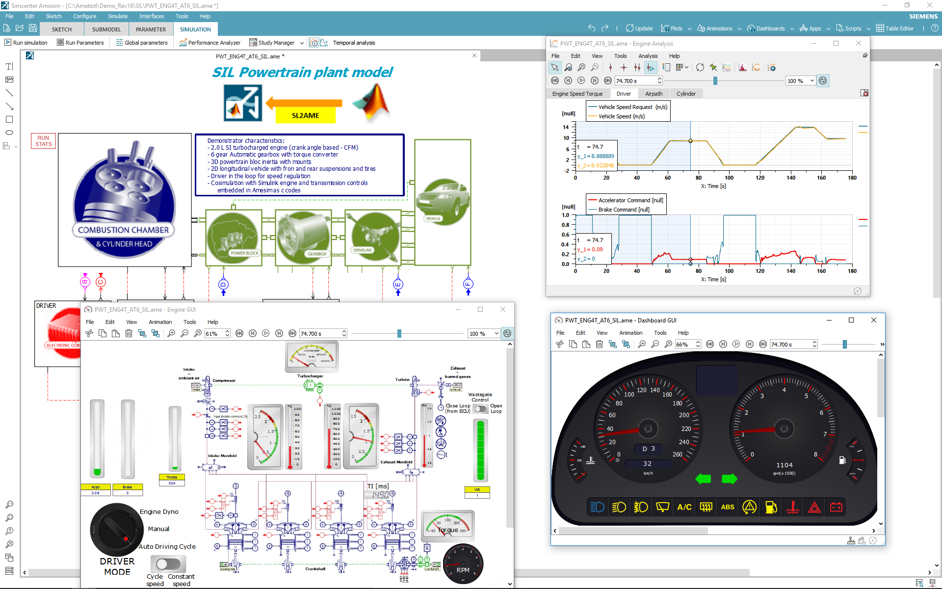 Engine Design And Controls Internal Combustion System Diagram An Efficient Simulink Interface Straightforward Export Workflows Ease The Integration Of Models In Your Processes