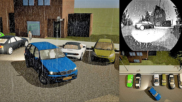 Simcenter Prescan Driving Simulation