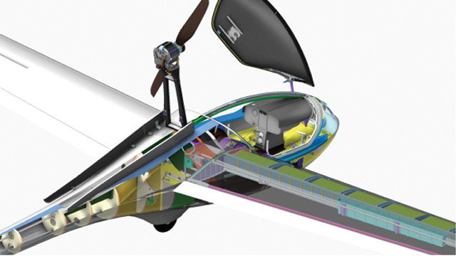 Warsaw University of Technology applies NX in the design of new motor glider