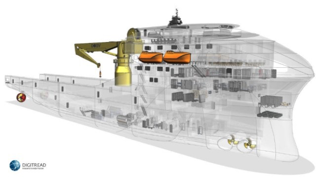 Increase ship design productivity in your design process by using connected simulation tools