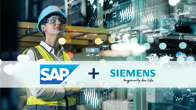 Siemens & SAP Accelerate Industrial Transformation