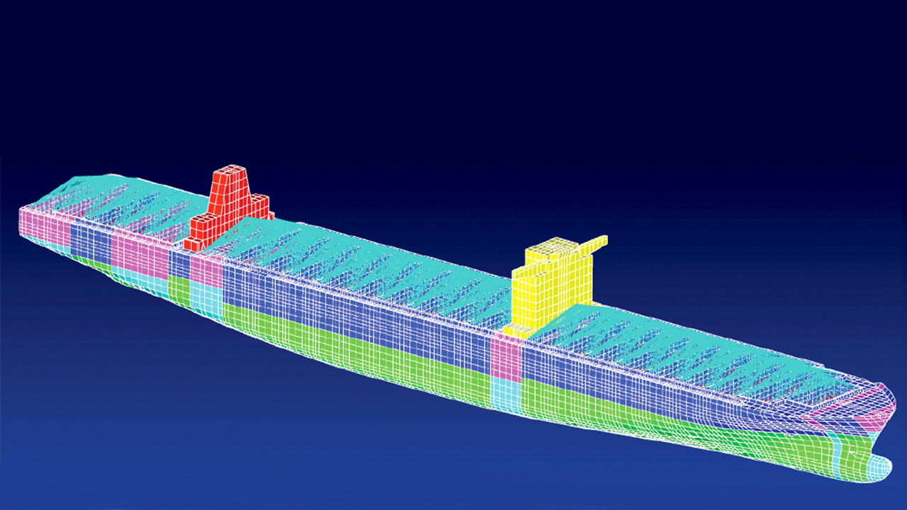 VeriSTAR Hull lets ship designers quickly determine if their designs conform to regulations