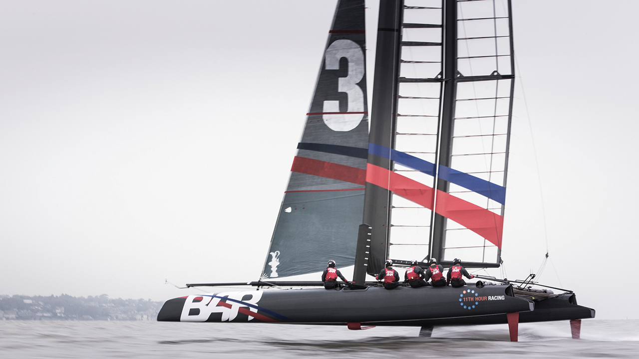 BAR design team uses NX and Teamcenter to develop an innovative racing boat to bring the America's Cup back to Britain