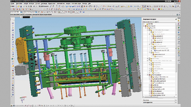 Using the same geometry data, part modeling is followed by tool and mold design, which is also performed using NX.