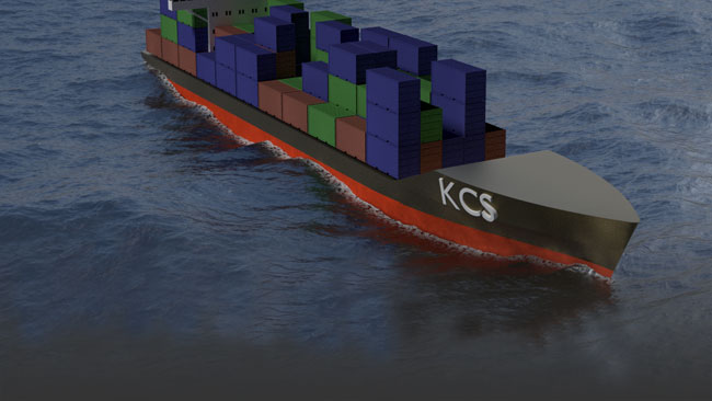 Using CFD to evaluate ship hull performance in realistic sea conditions