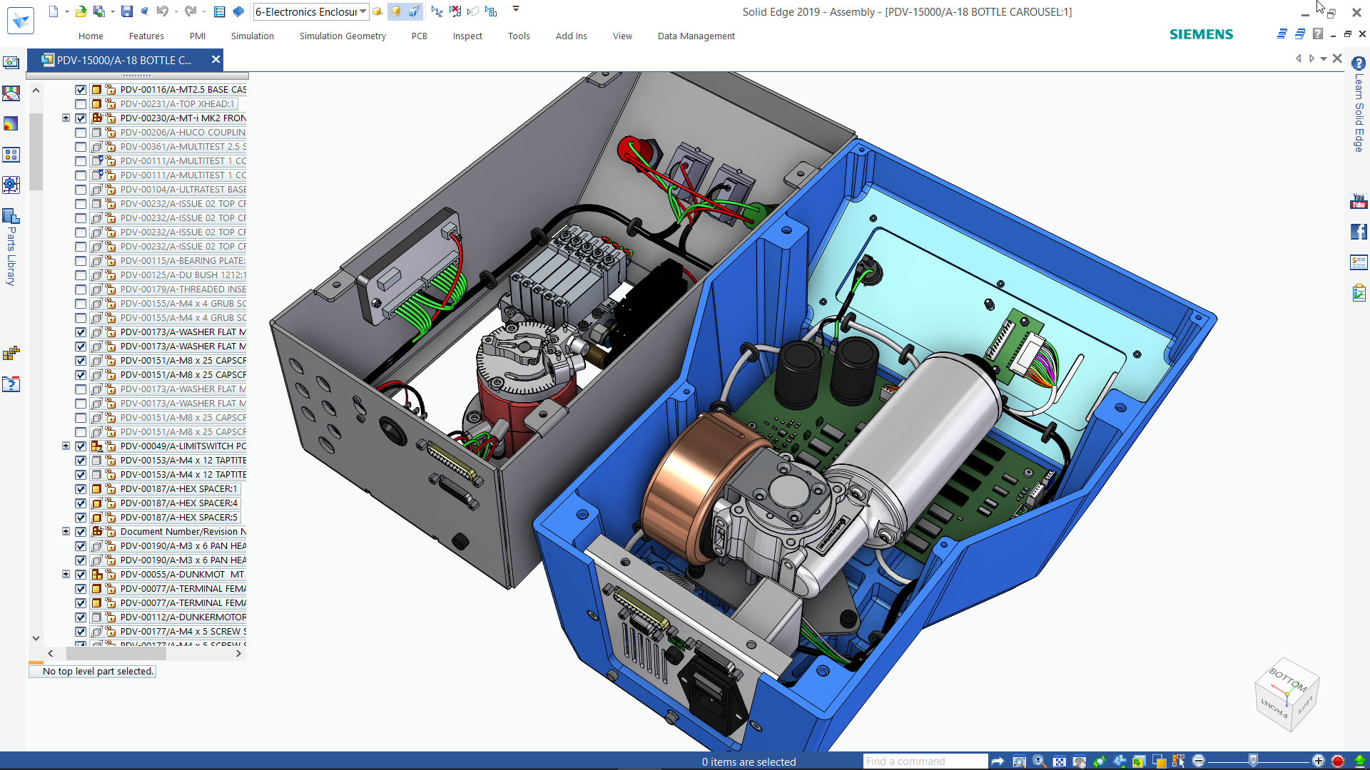 Electromechanical design for t...